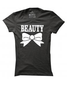 Dámské tričko s potiskem Beauty