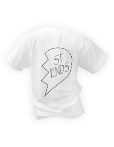 Dámské tričko s potiskem Best Friends část 2  6f34e90b22