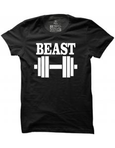 Pánské tričko s potiskem Beast