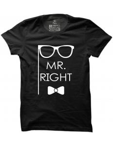 Pánské tričko s potiskem Mr. Right