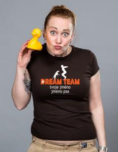 Dámské sportovní tričko Pejskaři – Dream team