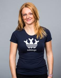 Dámské sportovní tričko Pejskaři – Adidogs