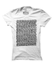 Dámské tričko s potiskem Bla Bla