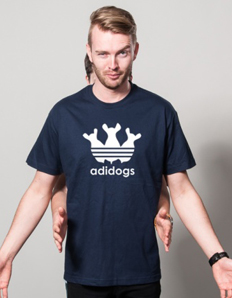 Pánské sportovní tričko Pejskař – Adidogs