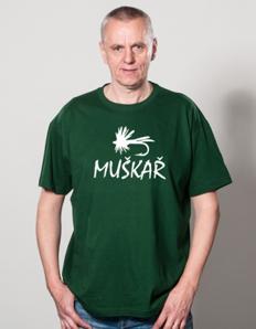 Pánské sportovní tričko Rybářské – Muškař