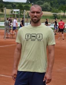 Pánské sportovní tričko Volejbal – Volejbal play