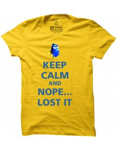 Pánské tričko s potiskem Keep calm Dory