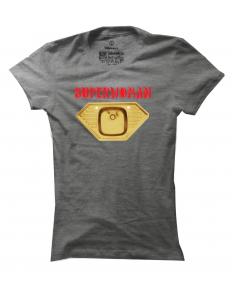 Dámské tričko s potiskem Superwoman