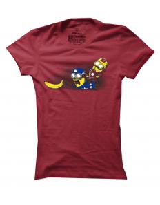 Dámské tričko s potiskem Banana war