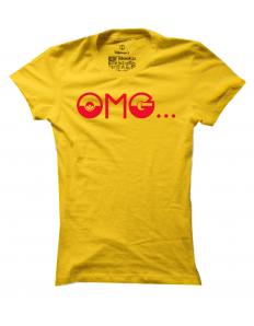 Dámské tričko s potiskem Pokémon OMG