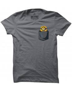 Pánské tričko s potiskem Kapesní mimoň agent