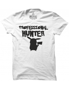 Pánské tričko s potiskem Professional pokemon hunter