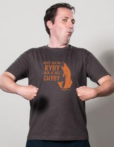 Pánské sportovní tričko Rybářské – Na ryby