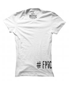 Dámské tričko s potiskem #fpicilajf