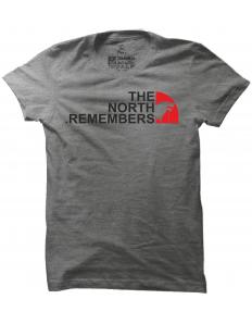 Pánské tričko s potiskem The north remembers