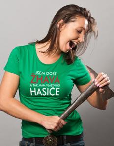 Dámské sportovní tričko Hasičské - Mám hasiče