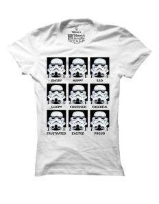 Dámské tričko s potiskem Stormtrooper