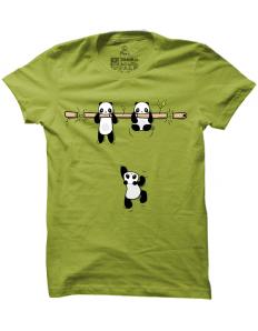 Pánské tričko s potiskem Pandy