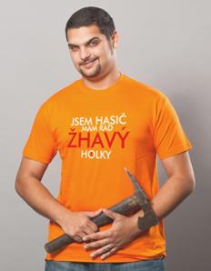 Pánské sportovní tričko Hasičské – Žhavej hasič