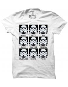 Pánské tričko s potiskem Stormtrooper