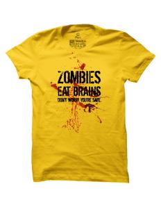 Pánské tričko s potiskem Zombies Eat Brains