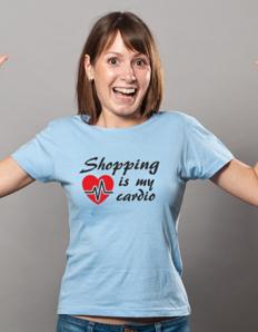 Dámské sportovní tričko Fitness – Shop cardio
