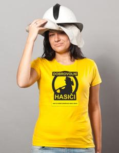 Dámské sportovní tričko Hasičské - Hasičský sbor