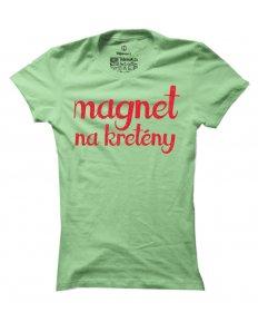 Dámské tričko s potiskem Magnet na kretény
