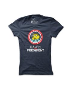 Dámské tričko s potiskem Ralph for president
