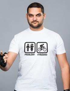 Pánské sportovní tričko Cyklistika – Cyklista problém