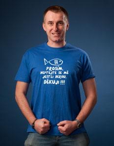 Pánské sportovní tričko Rybářské – Rybářský dík