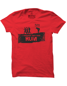 Pánské tričko s potiskem Rum