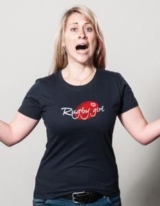 Dámské sportovní tričko Rugby girl