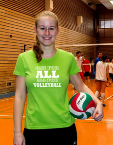 Dámské sportovní tričko Volejbal – All Volleyball