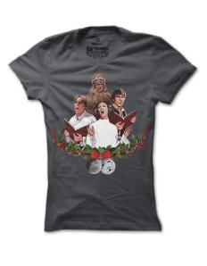 Dámské tričko s potiskem Hvězdná koleda