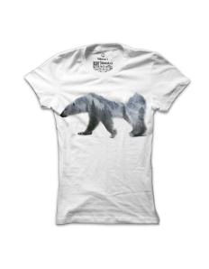 Dámské tričko s potiskem Medvěd