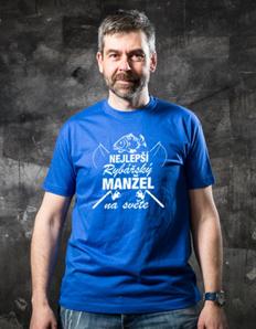 Pánské sportovní tričko Rybářské - Rybářský manžel