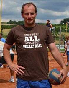 Pánské sportovní tričko Volejbal – All Volleyball