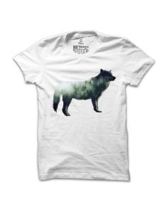Pánské tričko s potiskem Vlk