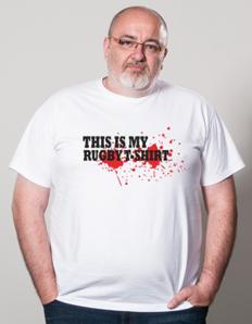Pánské sportovní tričko Rugby eat