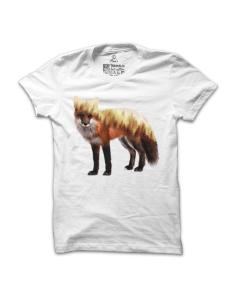 Pánské tričko s potiskem Liška