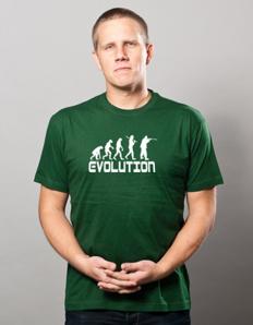 Pánské sportovní tričko Myslivec evoluce