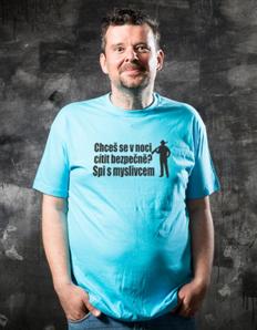 Pánské sportovní tričko S myslivcem