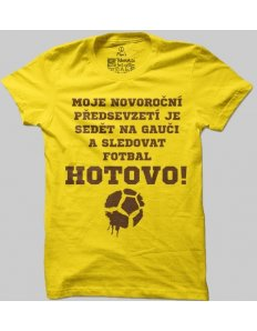Pánské tričko s potiskem Fotbal