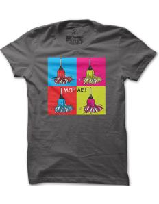 Pánské tričko s potiskem Mop Art
