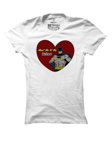 Dámské tričko s potiskem Batcave