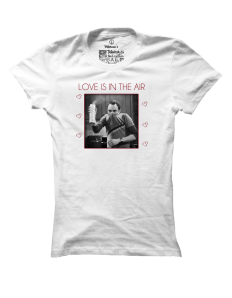 Dámské tričko s potiskem Love is in the air