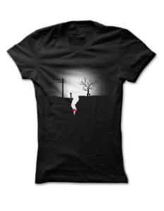 Dámské tričko s potiskem Limbo