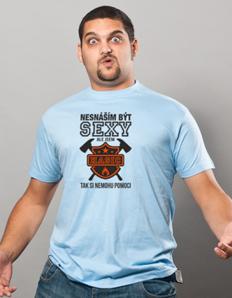 Pánské sportovní tričko Sexy hasič