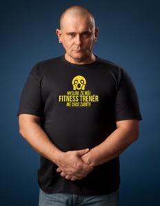 79f9d77adde Pánské sportovní tričko Fitness trenér